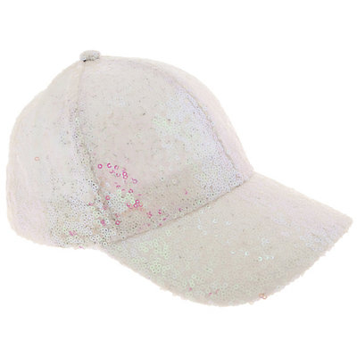 Girls 4-14 Elli by Capelli Sequin Baseball Cap Hat