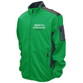 Men's Franchise Club North Dakota Fighting Hawks Peak Softshell Jacket