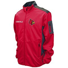 Men's Franchise Club Louisville Cardinals Peak Softshell Jacket