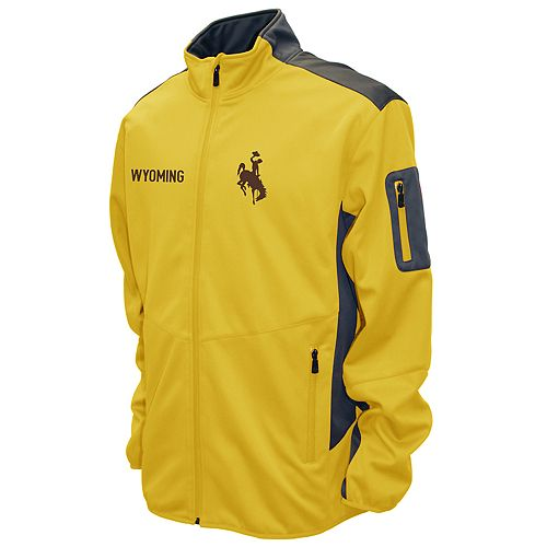 Men's Franchise Club Wyoming Cowboys Peak Softshell Jacket