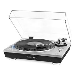 Victrola Pro Series USB Record Player with 2-Speed Turntable & Dust Cover
