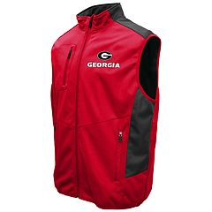 Men's Franchise Club Georgia Bulldogs Peak Softshell Vest