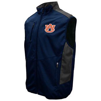 Men's Franchise Club Auburn Tigers Peak Softshell Vest