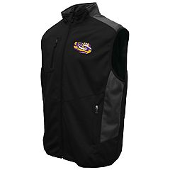 Men's Franchise Club LSU Tigers Peak Softshell Vest