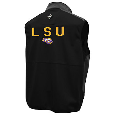 Men's Franchise Club LSU Tigers Peak Softshell Vest