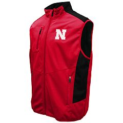 Men's Franchise Club Nebraska Cornhuskers Peak Softshell Vest