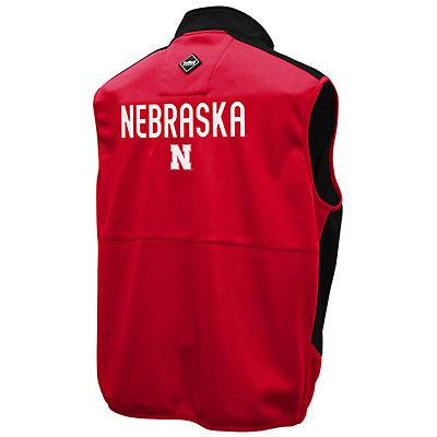 Men's Franchise Club Nebraska Cornhuskers Peak Softshell Vest