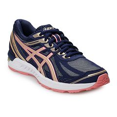 255c1fdb516 ASICS GEL-Sileo Women's Running Shoes. Azure Bronze Pink Gray Silver Blue