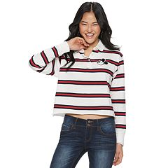 Disney's Mickey Mouse Juniors' Cropped Rugby Top