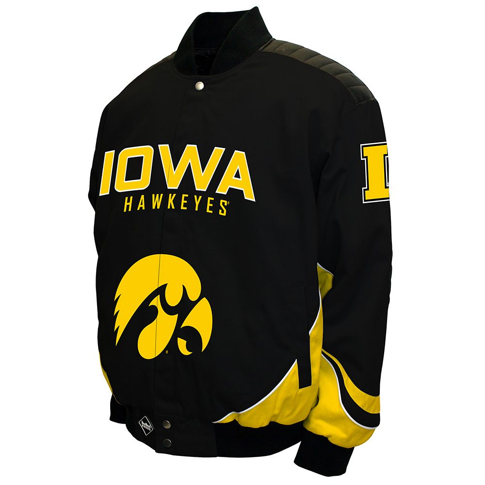 Men's Franchise Club Iowa Hawkeyes Defend Twill Jacket