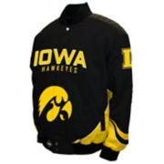 Men's Franchise Club Iowa Hawkeyes Defend Twill Jacket