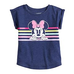 Disney's Minnie Mouse Baby Girl Striped Graphic Top by Jumping Beans®
