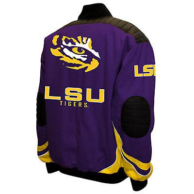 Men's Franchise Club LSU Tigers Defend Twill Jacket