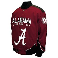 Men's Franchise Club Alabama Crimson Tide Defend Twill Jacket