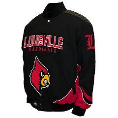 Men's Franchise Club Louisville Cardinals Defend Twill Jacket