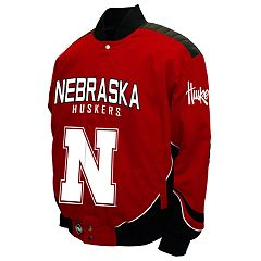 Men's Franchise Club Nebraska Cornhuskers Defend Twill Jacket