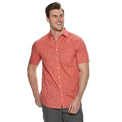 Big & Tall Urban Pipeline™ Regular-Fit Textured Poplin Button-Down Shirt