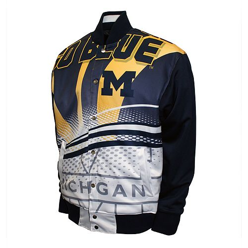 Men's Michigan Wolverines Rally Track Jacket