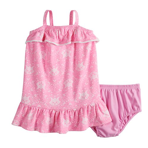 Disney's The Aristocrats Baby Girl Ruffled Dress by Jumping Beans®