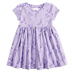 0eb47a383c Toddler Girl Jumping Beans® Printed Bow-Back Dress. Unicorn ...