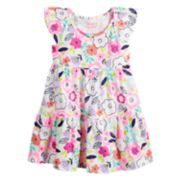 Toddler Girl Jumping Beans® Tiered Rainbow Dress