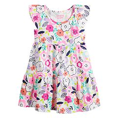 58b7c6c8ef1 Toddler Girl Jumping Beans® Tiered Rainbow Dress