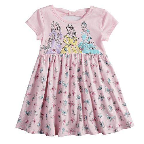 Disney's Belle, Cinderella & Rapunzel Toddler Girl Babydoll dress by Jumping Beans®