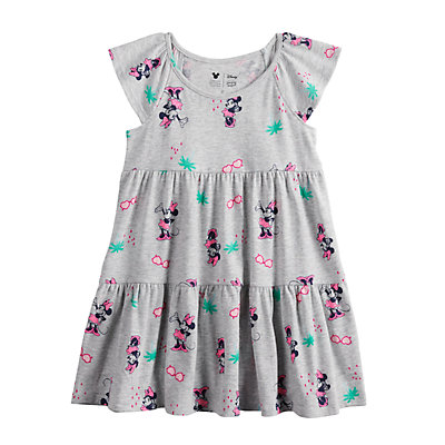 Disney's Minnie Mouse Toddler Girl Print Tiered Dress by Jumping Beans®