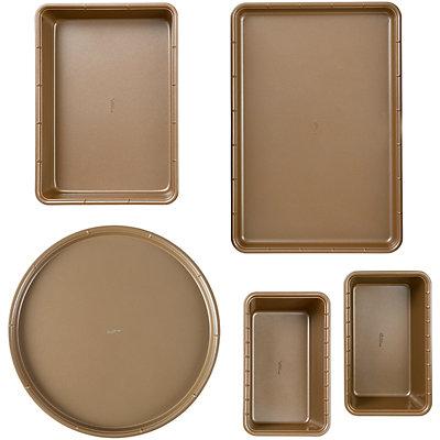 Wilton 5-piece Ceramic-Coated Non-Stick Bakeware Set