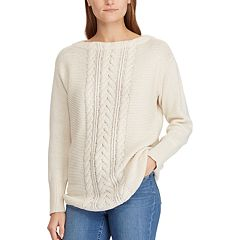 Women's Chaps Cable-Knit Sweater