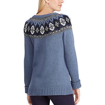 Women's Chaps Fairisle Sweater