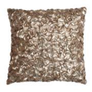 Thro by Marlo Lorenz Mermaid Sequin Faux Silk Throw Pillow