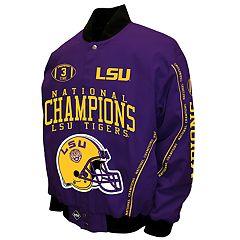 Men's Franchise Club LSU Tigers Commemorative Twill Jacket