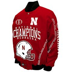 Men's Franchise Club Nebraska Cornhuskers Commemorative Twill Jacket