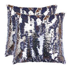 Thro by Marlo Lorenz 2-Pack Melody Mermaid Throw Pillows