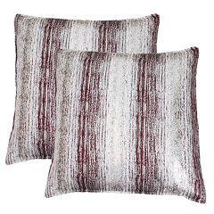 Thro by Marlo Lorenz Christopher Metallic Jacquard Throw Pillow