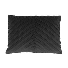 Thro by Marlo Lorenz James Pleated Velvet Throw Pillow
