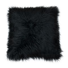 Thro by Marlo Lorenz Keller Faux Fur Mongolian Throw Pillow