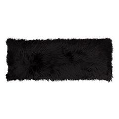 Thro by Marlo Lorenz Keller Faux Fur Mongolian Body Pillow