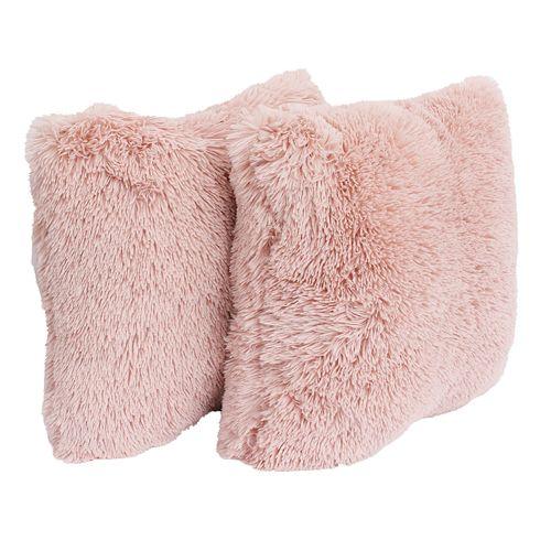 Thro by Marlo 2-Pack Lorenz Faux Fur Throw Pillows