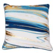 Thro by Marlo Lorenz Kia Marble Raised Foil Throw Pillow