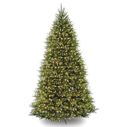 National Tree Company 12-ft. LED Dunhill Fir Artificial Christmas Tree