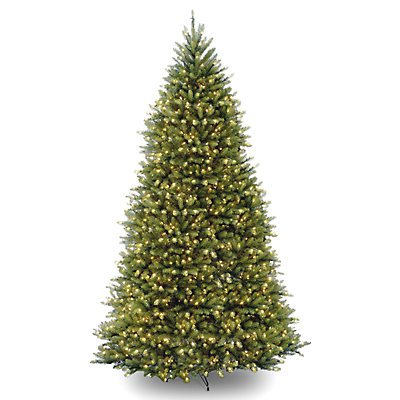 National Tree Company 10-ft. LED Dunhill Fir Artificial Christmas Tree