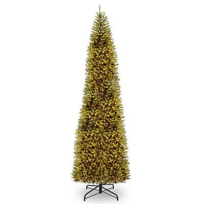 National Tree Company 16-ft. Pre-Lit Kingswood Fir Pencil Artificial Christmas Tree