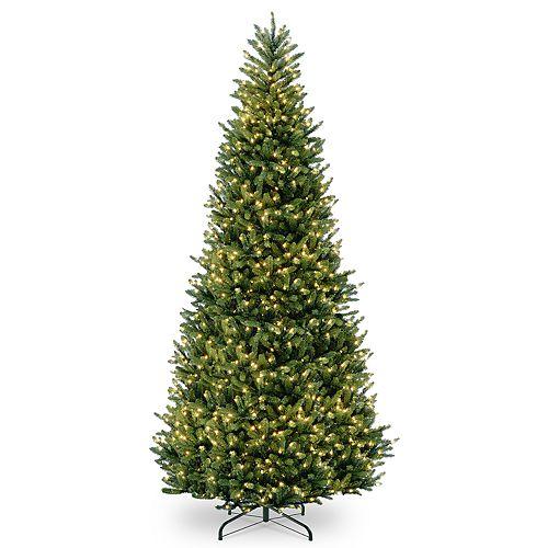 12 Ft Christmas Trees: National Tree Company 12-ft. Pre-Lit Fraser Fir Slim