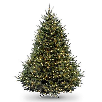 National Tree Company 7.5-ft. Pre-Lit Fraser Fir Artificial Christmas Tree