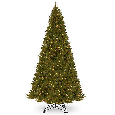National Tree Company 12-ft. Pre-Lit North Valley Spruce Artificial Christmas Tree