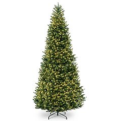 National Tree Company 15-ft. Pre-Lit Fraser Fir Slim Artificial Christmas Tree