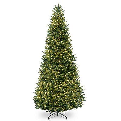 National Tree Company 15-ft. Pre-Lit Fraser Fir Slim Artificial Christmas Tree