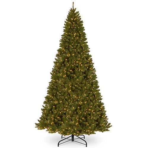 National Tree Company 16-ft. Pre-Lit North Valley Spruce Artificial Christmas Tree